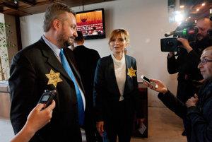 MPs Ondrej Dostál (SaS) and Viera Dubačová (OĽaNO-NOVA)