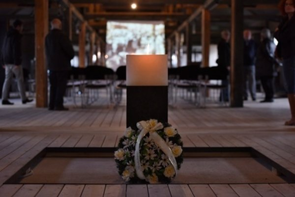 Holocaust was commemorated recently in Sereď, Slovakia.