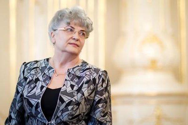 Supreme Court chairwoman Daniela Švecová