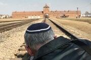 Auschwitz-Birkenau, illustrative stock photo