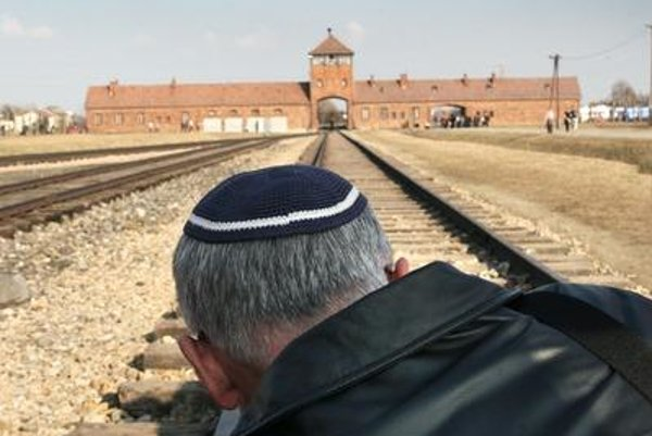 Auschwitz-Birkenau, illustrative stock photo