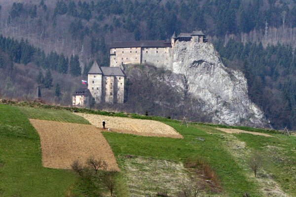 Orava Castle made it to the vampire films several times, most recently in Dracula mini-series by Netflix and BBC.