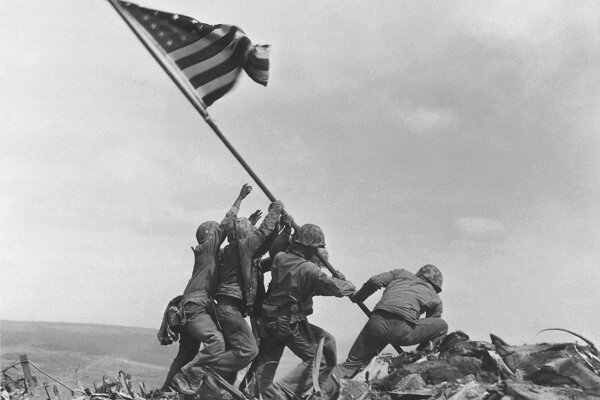 Raising the Flag on Iwo Jima