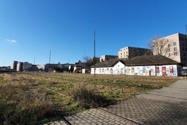 The former railway station Bratislava - Filiálka