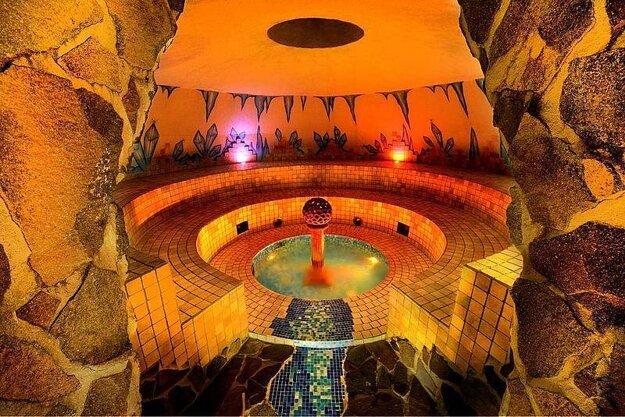 Tatralandia - a steam sauna