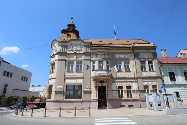 Municipal office in Brezno