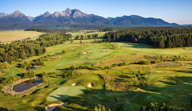 Black Stork Golf Resort in the High Tatras