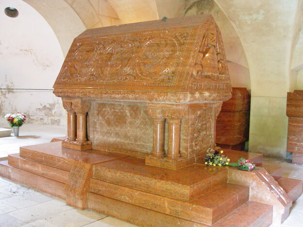 Sarcophagus of Ján Pálffy in Bojnice