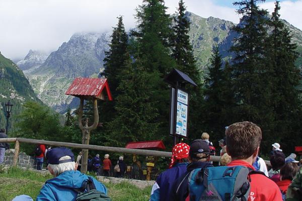 Hiking in the High Tatras