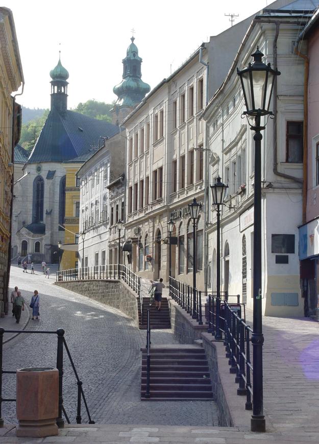 Main street, Banská Štiavnica