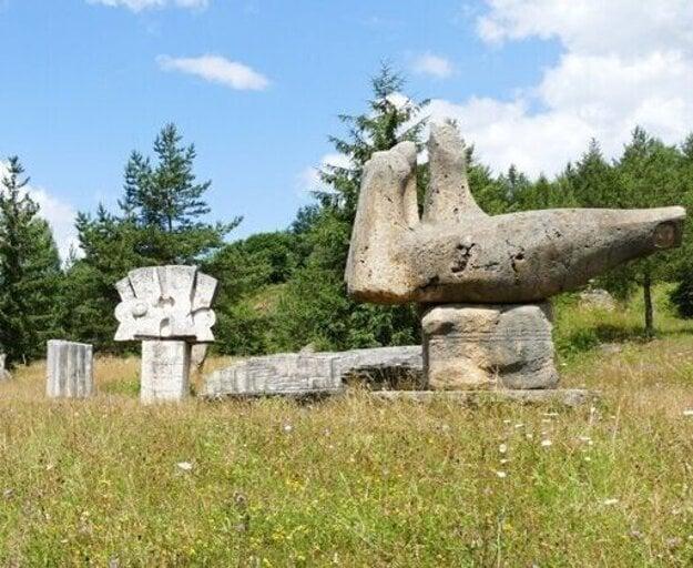 The Gallery of Sculptors' Symposium in Vyšné Ružbachy.