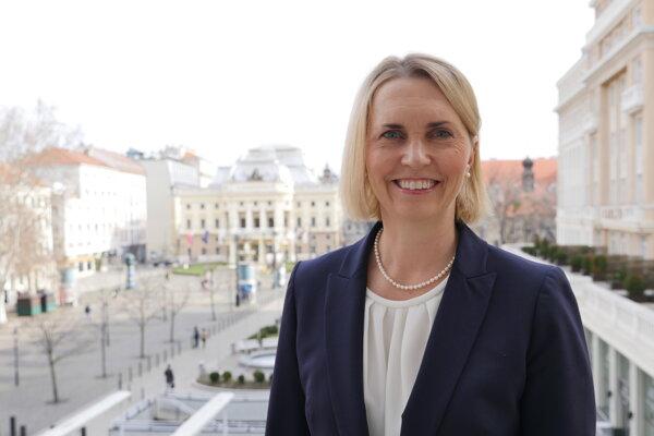 US Ambassador to Slovakia Bridget Brink.