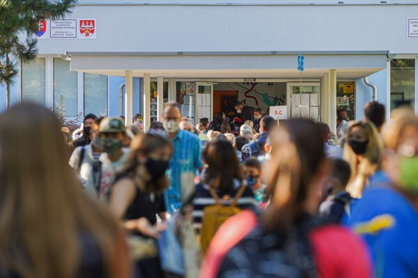 Several schools around Slovakia have had to close some classrooms after coronavirus infection was detected or suspected there.