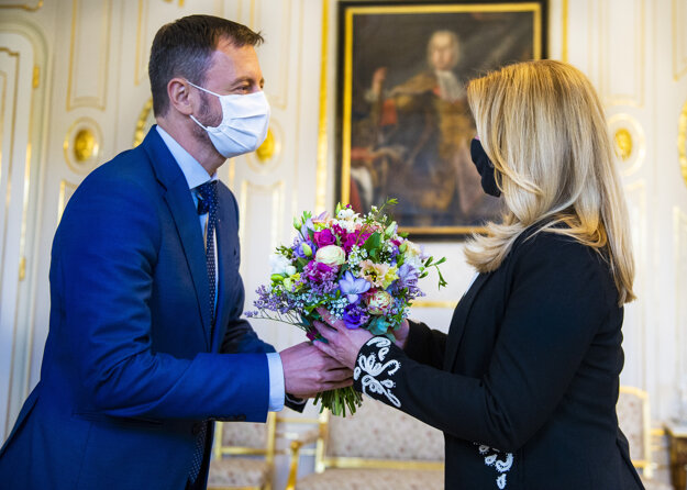 Finance Minister Eduard Heger (OĽaNO) met with President Zuzana Čaputová on September 28. He has promised to publish the draft of reforms to be financed from the Next Generation EU recovery fund by the end of this week.