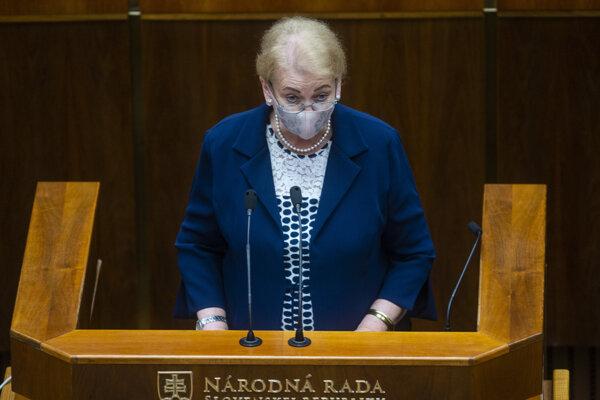 MP Anna Záborská
