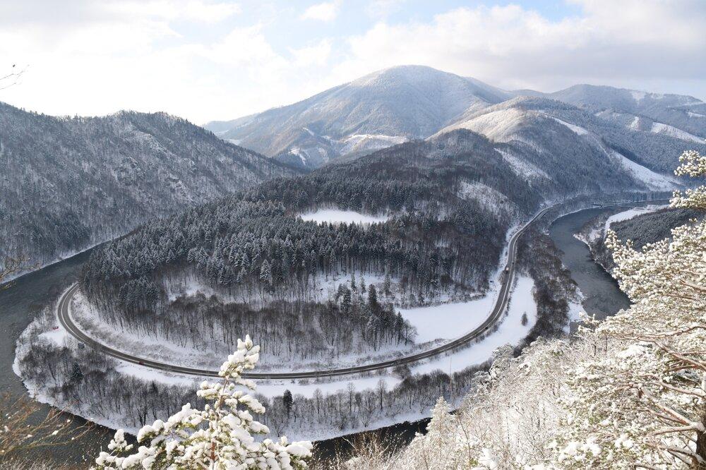 Domanšínsky meander, Malá Fatra mountains