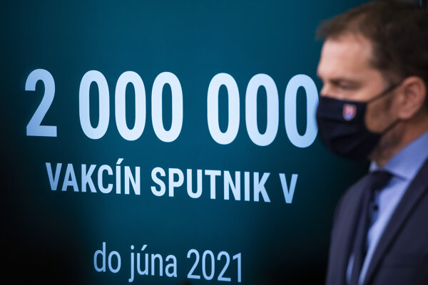PM Igor Matovič talked about the purchase of 2 million Sputnik V vaccines in mid-February.