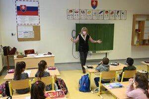 A primary school in Šarišské Michaľany.
