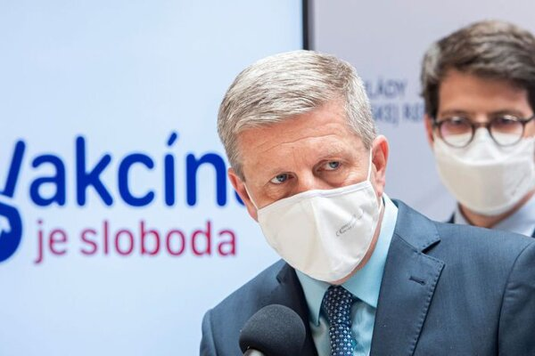 Health Minister Vladimir Lengvarsky
