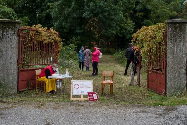 The Weekend of Open Parks and Gardens has became a popular event in Slovakia