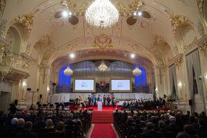 The ceremony was held in the Reduta building in Bratislava on June 27.