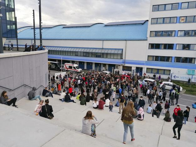 The large-capacity vaccination centre in Bratislava