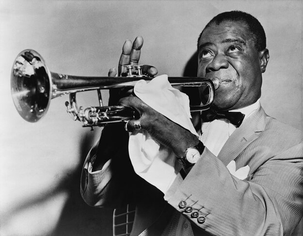 American musician Louis Armstrong played nine concerts in Prague in March 1965.