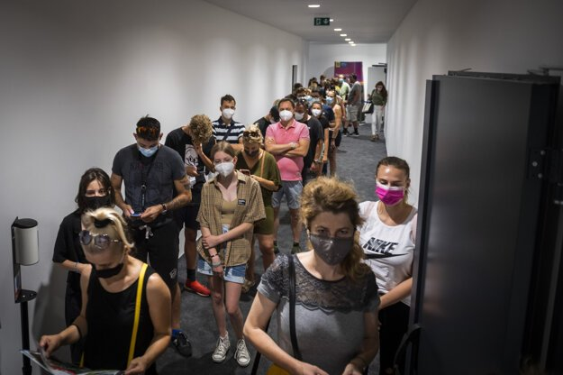 Vaccination at the National Football Stadium in Bratislava is over for now, but several hospitals in the capital are providing walk-in vaccination.