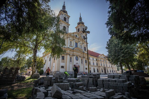 Basilica minor in Šaštín will welcome the pope.