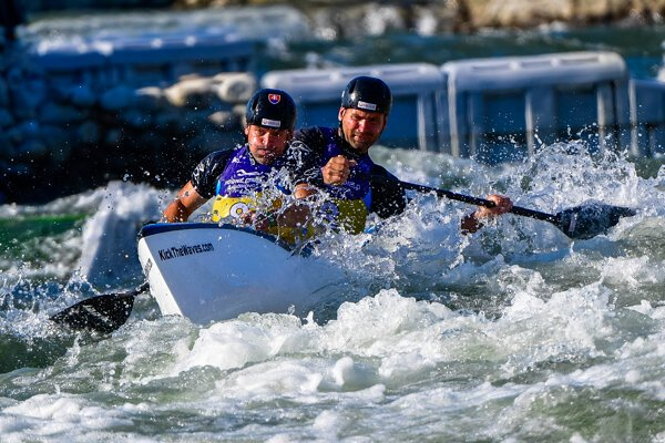 Brothers Peter and Pavol Hochschorners competed for the last time.