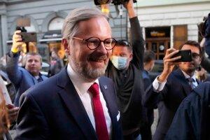 Probably future Czech PM Petr Fiala