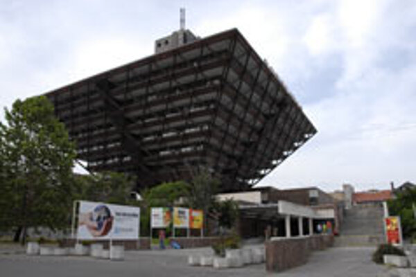 Slovak Radio's inverted-pyramid exterior is not all there is to the building, architects say.