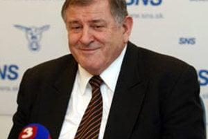 Movement for a Democratic Slovakia boss and former prime minister Vladimír Mečiar