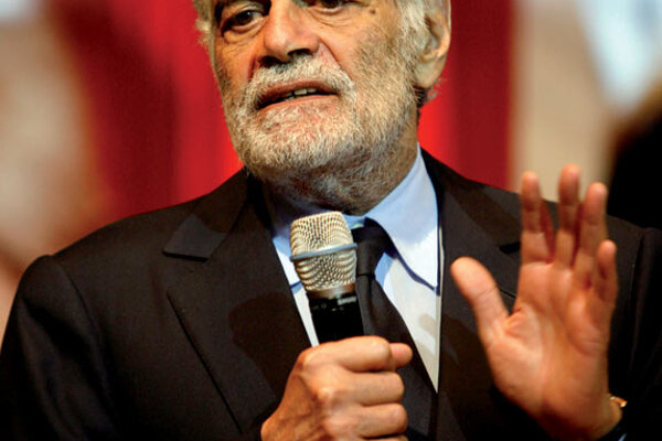 Film legend Omar Sharif will appear in person at the festival.