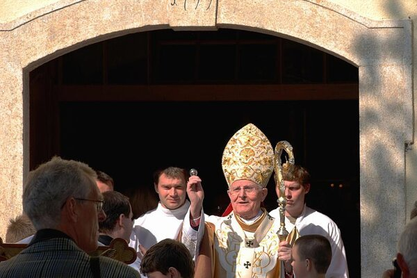 Ján Sokol has been the Trnava archbishop for almost 20 years.