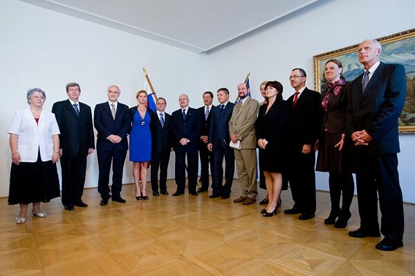 Class of '09: some of Slovakia's 13 newly elected MEPs.