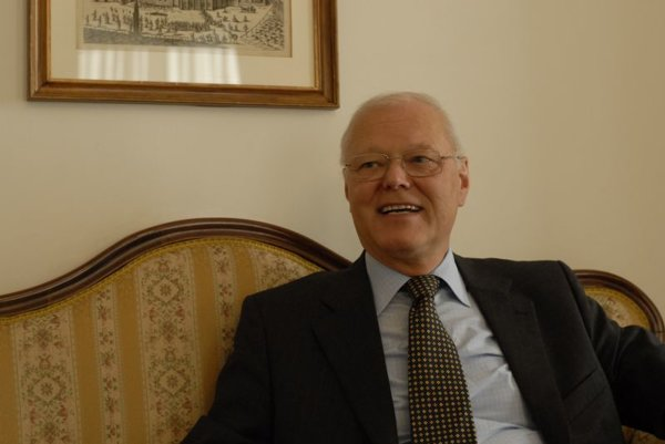 Austrian Ambassador Helmut Wessely