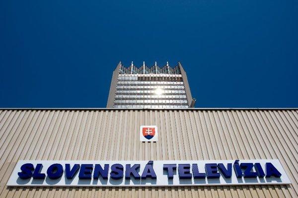 The STV building in Bratislava.