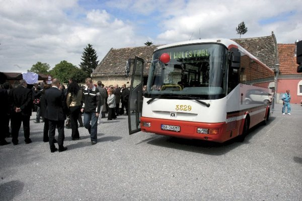 Bratislava municipal buses now run to towns and villages in neighbouring Austria.