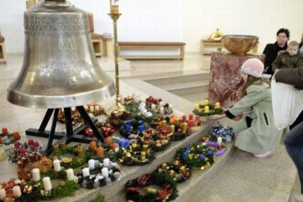 Advent mass in St. Gorazd in Nitra