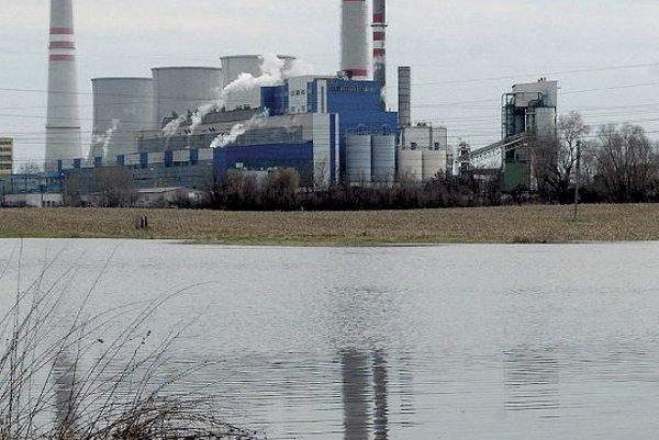 Thermal power station Vojany.