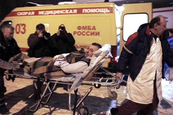A terrorist bomb blast killed at least 35 people and injured another 130 on January 24 in Moscow.