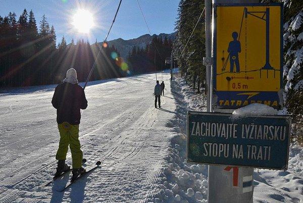 The ski season has started at Roháče-Spálená.