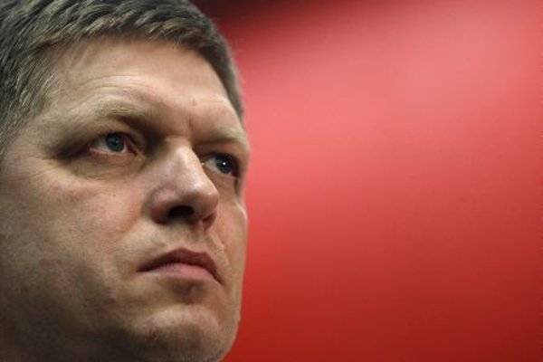 Robert Fico, the winner of parliamentary elections in Slovakia.
