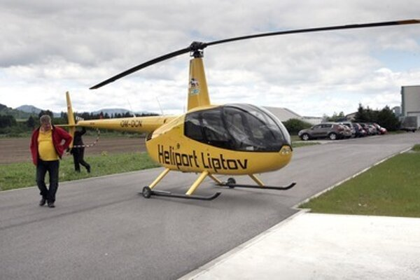 Fogaš makes observatory flights from a working area, without a due heliport.