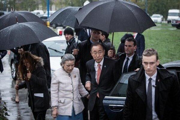 UN Secretary-General Ban Ki-moon visited Gabčíkovo facility.