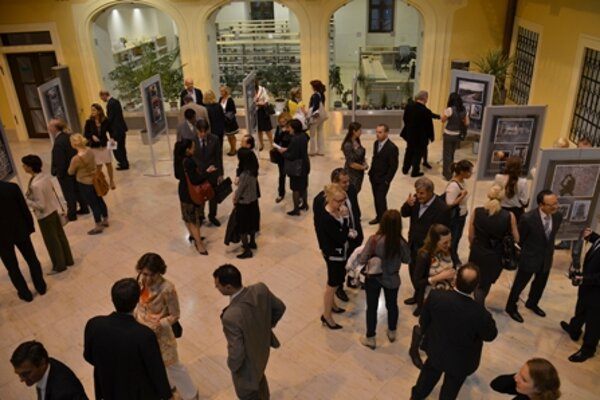 Opening of the photo-exhibition Košice through the Eyes of Diplomats.