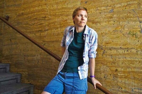 Writer Jana Beňová takes part in the IWP.