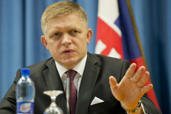 Prime Minister and head of the Smer party Robert Fico