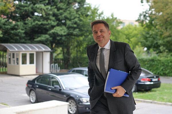 Finance Minister Peter Kažimír